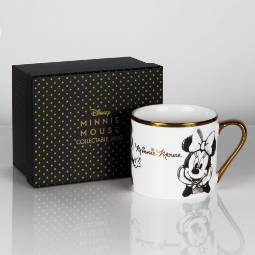 Disney Minnie Mouse Bone China Collectable Mug in Gift Box - MINNIE MOUSE